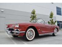 1962 Chevrolet Corvette 327ci  Stock:638 Year:1962