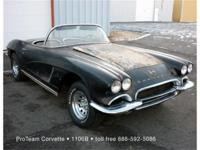 1962 Corvette Convertible, 327-360 hp, (fuelie),