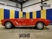 1962 Chevrolet Corvette Roadster. The owner is claiming
