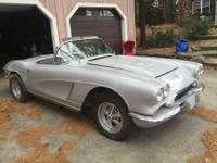 1962 Chevrolet Corvette Convertible All Original.  For