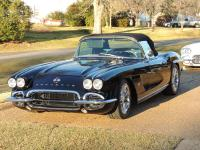 1962 CORVETTE RESTO MOD BLACK ON BLACK-C5 FLUSH DOOR