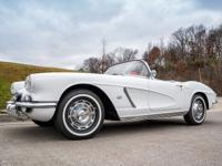 1962 Chevrolet Corvette Rare Power Top,has a 327 C.I.