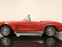 1962 Chevrolet Corvette Convertible! Everyone loves a