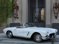 1962 Chevrolet Corvette says it all. Style, comfort,