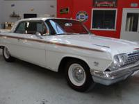 "1962 Chevrolet Impala ""409"". This 2 Door Sport Coupe is"