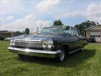 This a very nice example of a 1962 Impala, combining