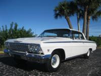 Beautifully restored and hard to find 1962 Chevrolet