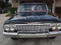 1962 Chevrolet Impala convertible. Very clean.