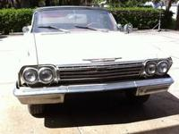 1962 Chevrolet Impala convertible for sale. This is a