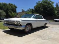 1962 Chevrolet Impala Coupe LA planet car. currently