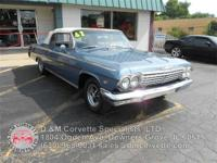 True 1962 Chevrolet Impala SS Convertible! Numbers