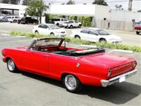 1962 CHEVROLET NOVA CONVERTIBLE, 350 AUTOMATIC, 10 BOLT