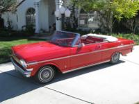 1962 Chevy Nova Convertible -194 cu 6-cylinder with a 2