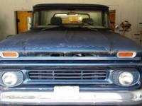 1962 chevy c10 stepside runs good 327 v8 transmission