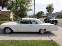 1962 Chevy Impala 2Dr. Hard Top with White Exterior,