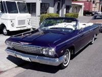 1962 Chevy IMPALA SS CONVERTIBLE Candy Burple Paint