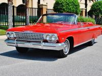 The best 62 Impala SS in the U.S. 4-Speed- 327/300hp