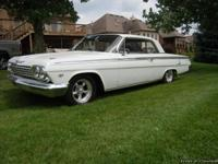 1962 Chevy Impala Super Sport Matching Numbers White 2