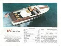 1962 Chris-Craft Holiday Please call owner Steve at  or