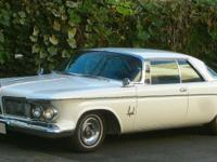 1962 CHRYSLER IMPERIAL 2-DOOR SOUTHAMPTON CROWN COUPE.