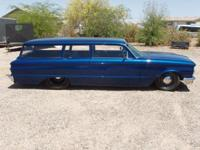 1962 Mercury Comet 2 Dr Station Wagon customized hot