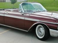 Very nice 1962 Ford Galaxie 500 XL convertible.  -This