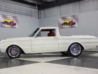 Stk#021 1962 Ford Ranchero Painted Original Ford PPG