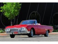 This rare fully restored 1962 Ford Thunderbird factory