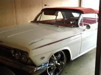 327v8, 350 turbo transmission, newer top and interior,