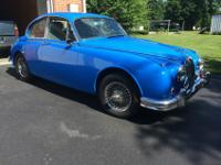 YUP!!! It IS a COUPE!!! A 1962 Jag MK-2 COUPE!! I have