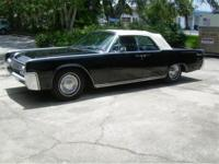 1962 Lincoln Continental Convertible for Sale. Finished