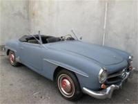 1962 Mercedes Benz 190SL Roadster Convertible Here is