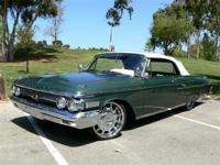 1962 Mercury Custom Convertible Equipped with a Z code