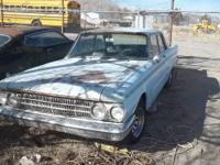 1962 Mercury Meteor. This car is the size of early