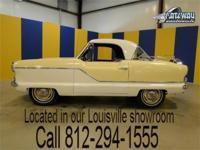 1962 Metropolitan 562 hardtop. This is an all original