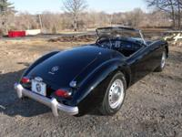 1962 MG MGA mk2, new complete restoration. 4 cyl. 4