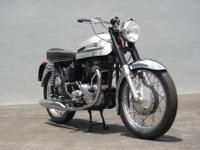 1962 Norton 650SS  -Beautifully restored! -Frame