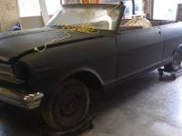 This is a 1962 NOVA II 400 Convertible. I am more into