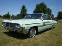 Options Included: 1962 Oldsmobile 98 Four Door Luxury