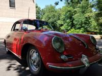 EXTRAORDINARY ORIGINAL SURVIVOR 1962 PORSCHE 356-B 1600