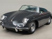 1962 Porsche 356B Twin-Grille Roadster VIN: 89736 The