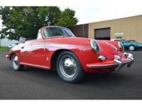 1962 Porsche 356B 1600 S Cabriolet T6 with original
