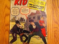 I've got a vintage 1962 Rawhide Kid comic book that's