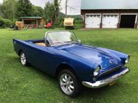 Year : 1962 Make : Sunbeam Model : Alpine Exterior
