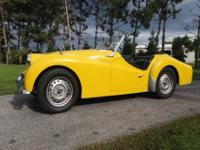 This Triumph TR3 has actually been in storage in a