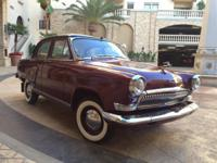 You are viewing a 1962 Volga GAZ 21 Deluxe Limited