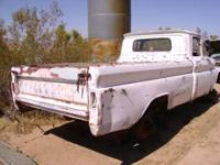 1962 Chevrolet Fleetside Longbed Truck sitting on 1979