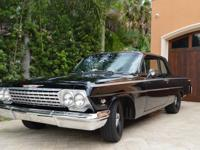 1962 CHEVROLET BEL AIR STUNNING CLONE WITH ALL FACTORY