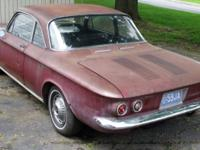 We have a 1962 Chevy Corvair Monza 900 first generation