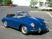 This 1962 Porsche 356 B Cabriolet features the